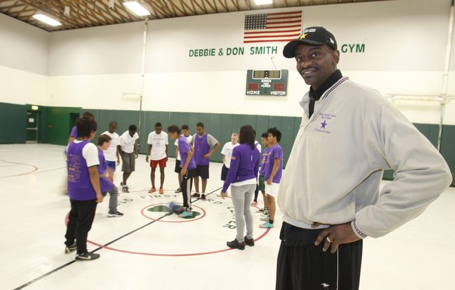 "Former college hoops standout Willie ""Hutch"" Jones is into his fourth decade of mentoring young Buffalonians. {James P. McCoy/Buffalo News file photo}"