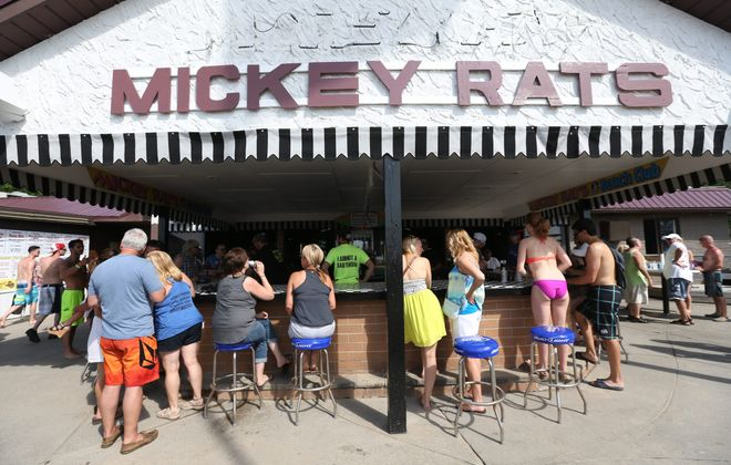 The property where Mickey Rats is located at 8934 Lakeshore Road in Evans is targeted for redevelopment by an investor group led by William Paladino and Ellicott Development. (Sharon Cantillon/News file photo)