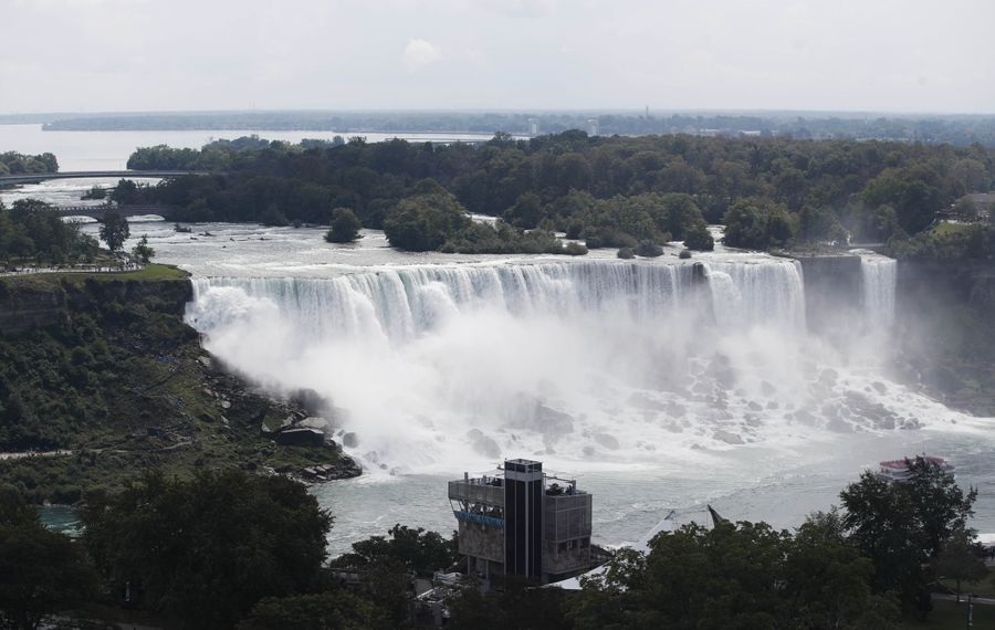 Not enough progress heas been made in capitalizing on the worldwide brand that is Niagara Falls. (Sharon Cantillon/Buffalo News file photo)