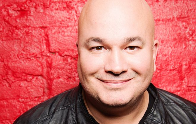 "Comedian Robert Kelly on Buffalo: ""(It) has the best people."" He has four shows at Helium Comedy Club Sept. 15-16. (Courtesy of Helium)"