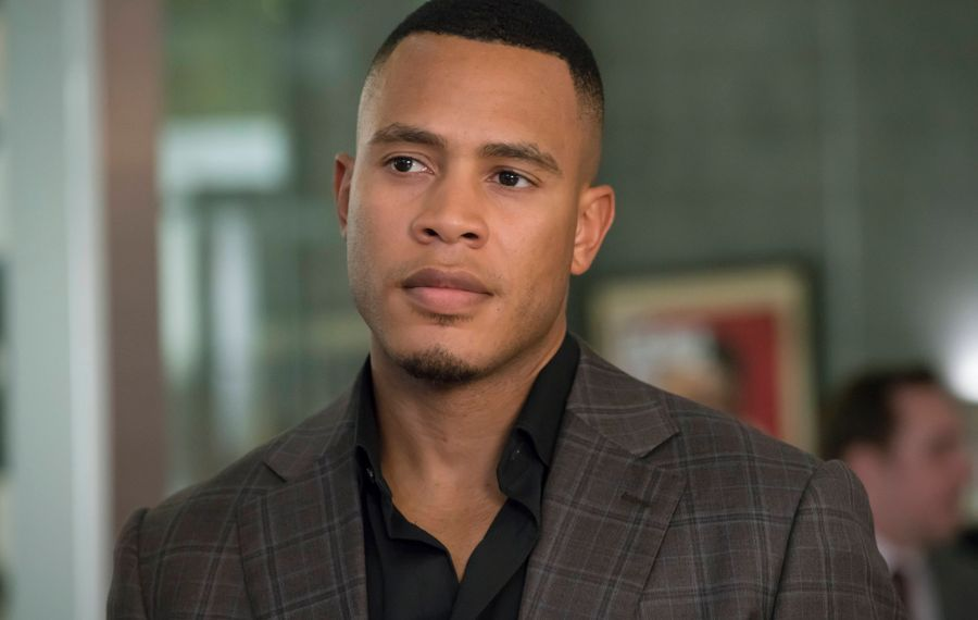 """EMPIRE: Trai Byers in the """"Chimes at Midnight"""" episode of EMPIRE airing Wednesday, Nov. 9 (9:00-10:00 PM ET/PT) on FOX. ©2016 Fox Broadcasting Co. CR: Chuck Hodes/FOX"""