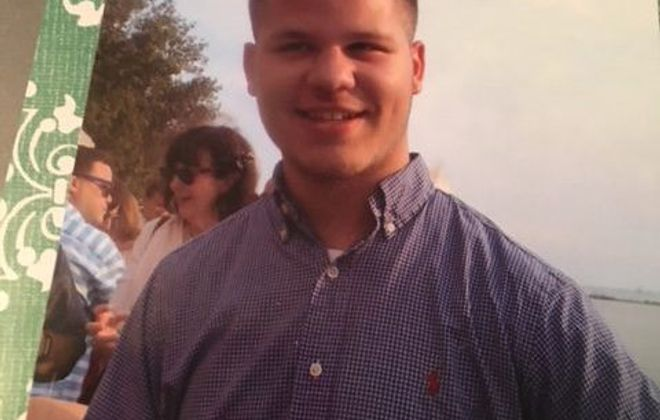 Ben Cambria, 20, has been diagnosed with Lou Gehrig's Disease. Friends and family are organizing a fundraiser on Sunday, Oct. 1 at the Elwood Fire Hall in the Town of Tonawanda. (Provided  photo)