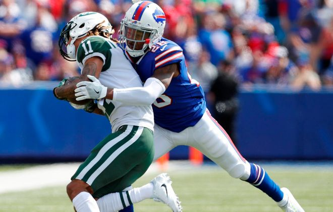 Cornerback EJ Gaines is back with the Buffalo Bills for a third time. (Mark Mulville/News file photo)