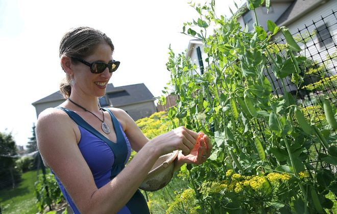 Garden Fresh Foodie Jennifer Meyers Altman will lead a workshop about plant-based eating Saturday during the World on Your Plate food education festival at Daemen College. (Sharon Cantillon/Buffalo News file photo)