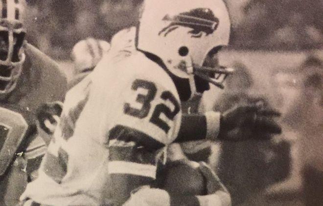 O.J. Simpson wore Buffalo Bills jersey No. 32. (Buffalo News file photo)