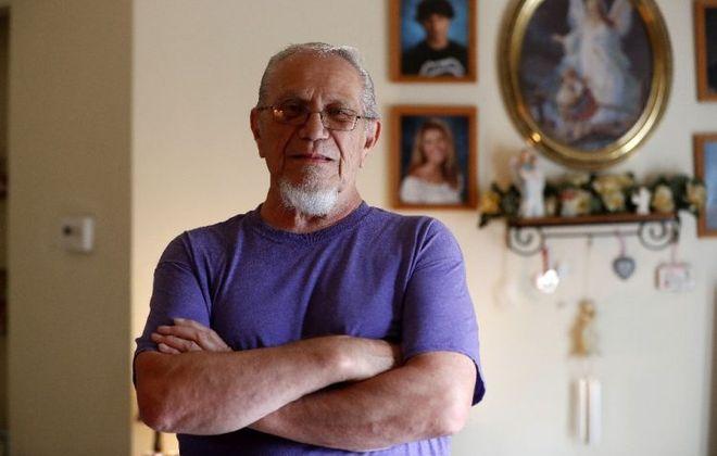 Retired Teamster Frank Lipka. (Mark Mulville/Buffalo News)