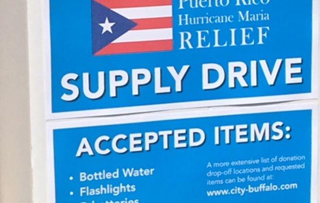 City Hallways (Sept. 26): Donation drive for Puerto Rico