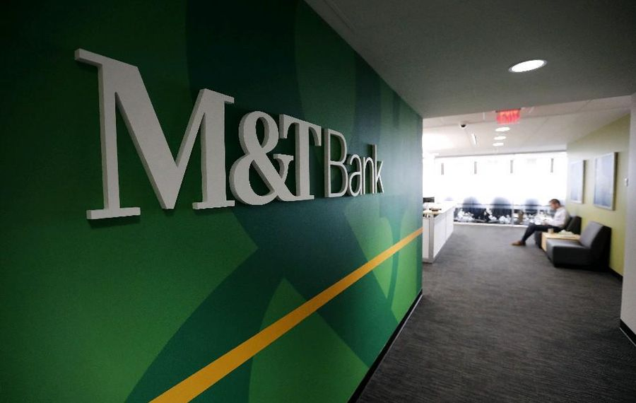 M&T Bank continues to lead an SBA lending program. (Mark Mulville/Buffalo News)