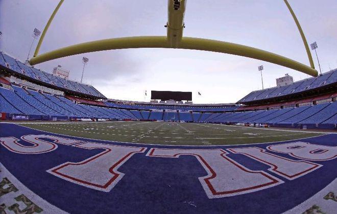 The Bills will practice at New Era Field Aug. 2. (Mark Mulville/Buffalo News file photo)