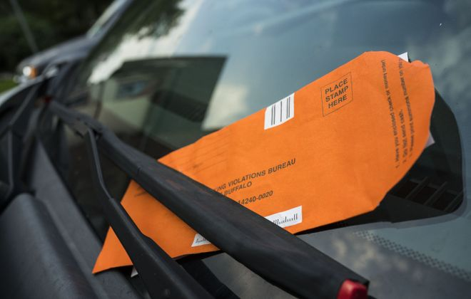 The number of tickets written in the Elmwood Village for parking too close to a crosswalk doubled last year. (Derek Gee/News file photo)