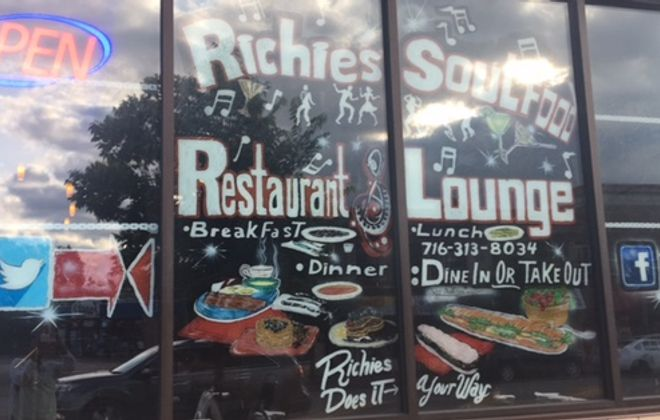 Richies Soul Food recently opened on Main Street in the University District.