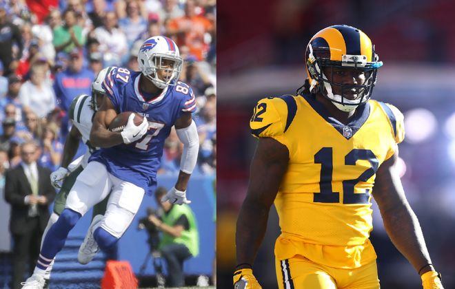 Let's compare Jordan Matthews and Sammy Watkins. (News file photo and Getty Images)