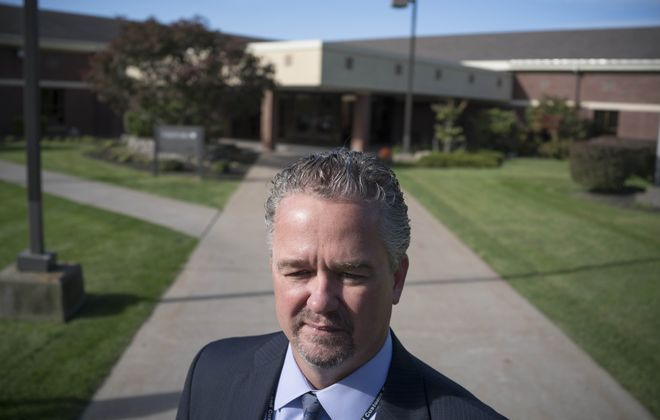 """""""Everyone is fair game,"""" said Thomas Feeley, the new Buffalo field office director for Immigration and Customs Enforcement, photographed outside the Federal Detention Center in Batavia. """"I think people want us to apologize for what we do, and that's not going to happen."""" (Derek Gee/Buffalo News)"""