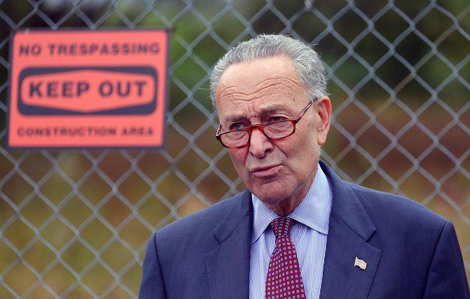 Senate Minority Leader Charles E. Schumer. (John Hickey/Buffalo News)