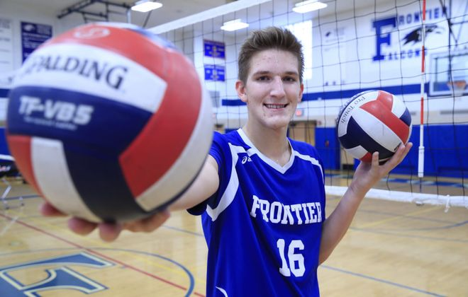 Frontier's Brandon Dunz is our Prep Talk Male Athlete of the Week. (Harry Scull Jr./Buffalo News)