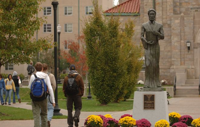Canisius College will not be requiring students to submit SAT and ACT scores when applying for admission, at least for those seeking entrance for the fall of 2021. (Sharon Cantillon/News file photo)