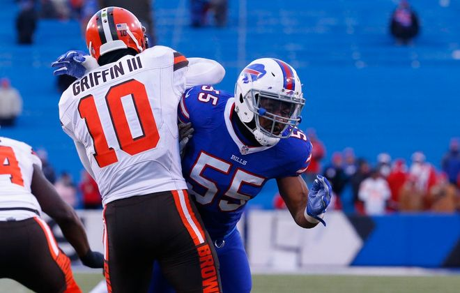 Bills defensive end Jerry Hughes. (Harry Scull Jr./News file photo)