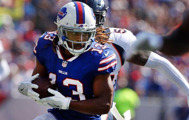 Kaelin Clay re-signed with the Bills. (Mark Mulville/Buffalo News)