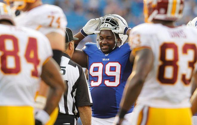 Former Bills defensive tackle Marcell Dareus (Harry Scull Jr./Buffalo News)