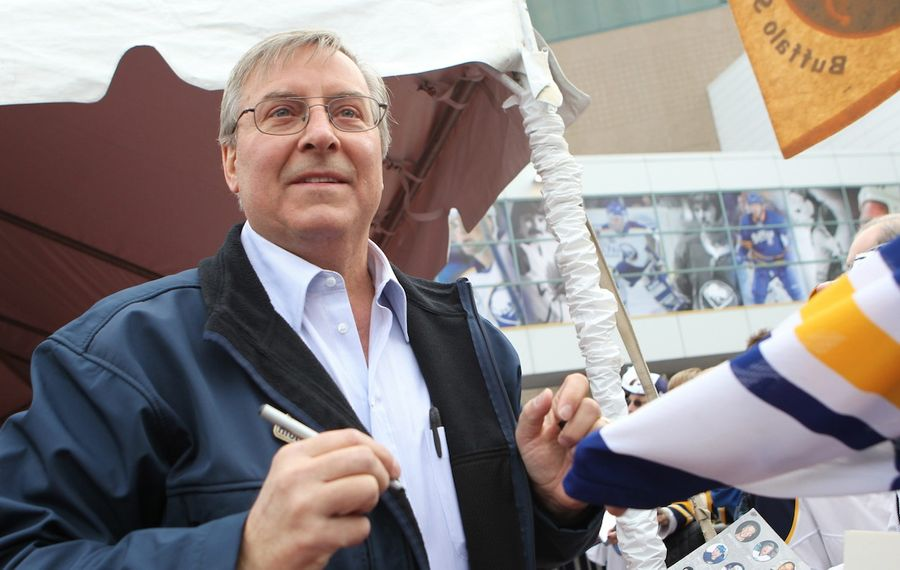 Terry Pegula says the NFL and NHL Drafts feature elation and terror. (James P. McCoy/News file photo)