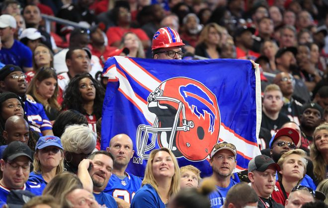 Bills fans have been fooled by hot starts before, but is this year's 3-1 record different? News Sports Reporters Jay Skurski and Tim Graham choose sides of that debate. (Harry Scull Jr./ Buffalo News)