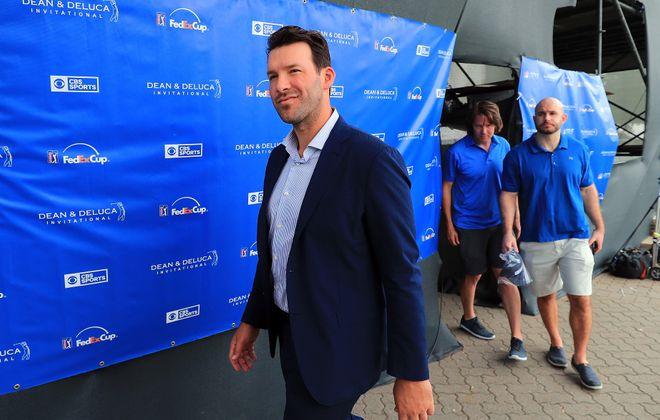 Former Dallas Cowboys quarterback and on-air talent Tony Romo (Tom Pennington/Getty Images)