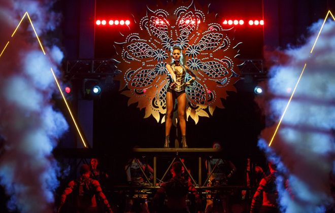 """Deborah Cox stars in a touring version of """"The Bodyguard: The Musical"""" now playing in Shea's Performing Arts Center."""
