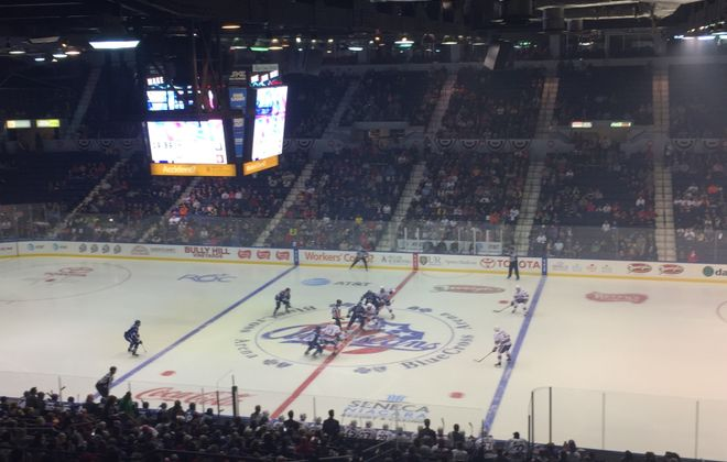 The Rochester Americans opened the 2017-18 season on Friday.