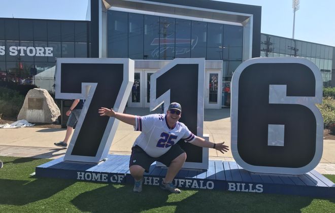 Reid Okoniewski, who has never experienced a winning Bills team for himself, sees reason to hope that drought is at an end. (Contributed photo)