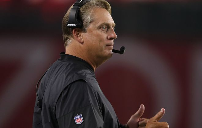 Raiders coach Jack Del Rio. (Getty  Images)
