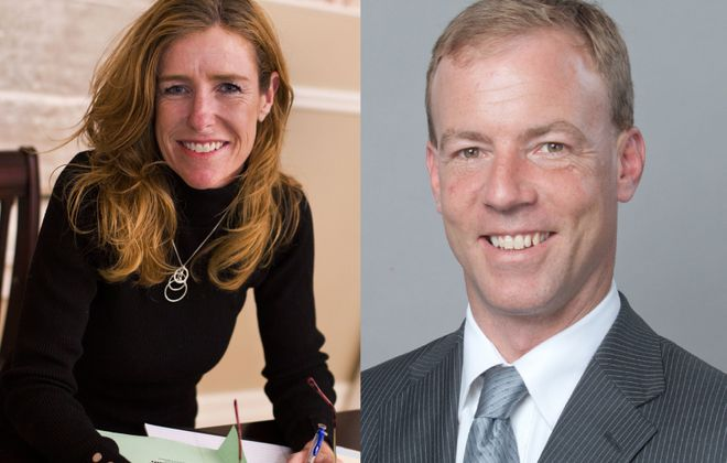 Lynne Dixon and Michael Quinn faced off for the 9th District Erie County Legislature seat.
