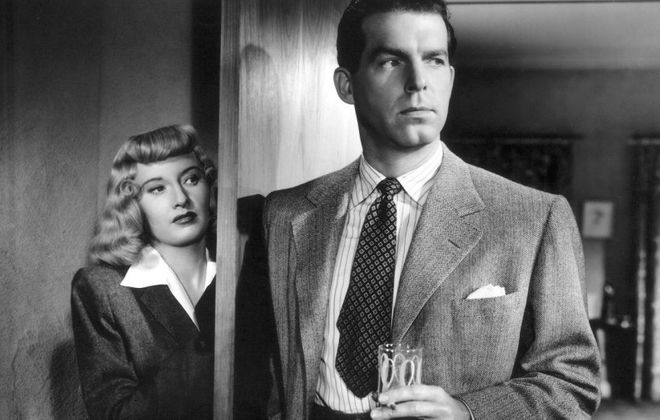 """Do you like crime thrillers? Then """"Double Indemnity,"""" starring Barbara Stanwyck and Fred MacMurray, is a good classic film choice for you."""