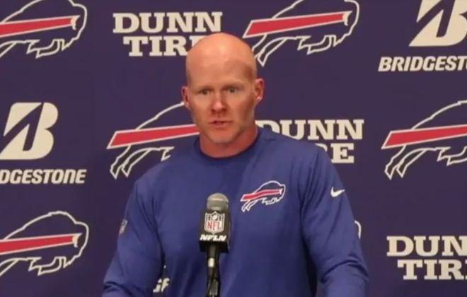 Watch: Bills coach Sean McDermott