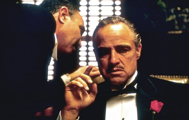 """Enjoy Marlon Brando in """"The Godfather"""" along with good food, drink in a special event at the Screening Room Cinema Cafe."""