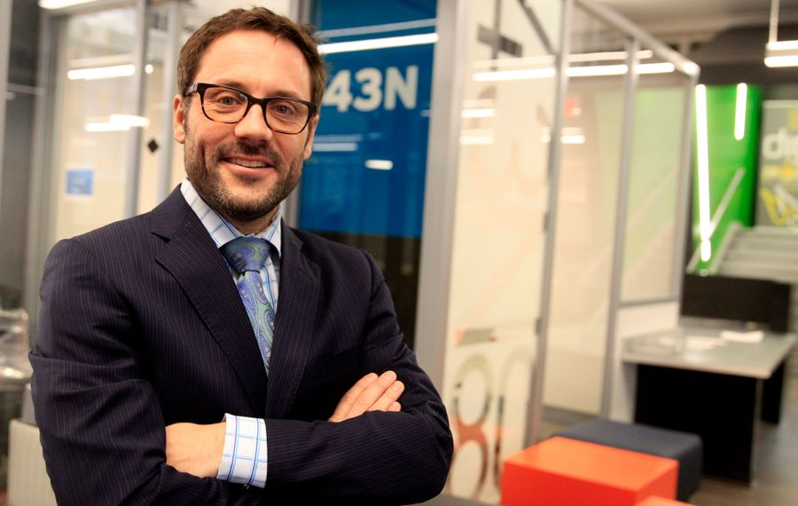 John Gavigan, the former  executive director of 43North, is joining SomaDetect, the contest's 2017 winner. (John Hickey/Buffalo News file photo)