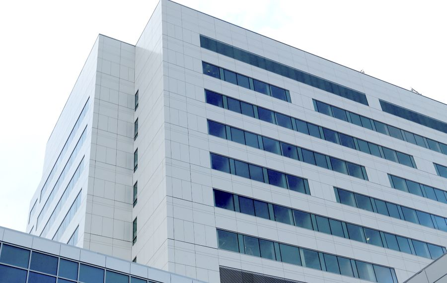 The completion of the John R. Oishei Children's Hospital on the Buffalo Niagara Medical Campus is just one of the projects that has helped turn Buffalo around.  (Robert Kirkham/Buffalo News)