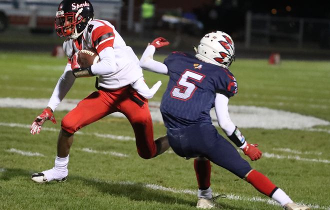 South Park's Dayquan Anderson has been a reliable target at receiver.  (James P. McCoy / Buffalo News file photo)