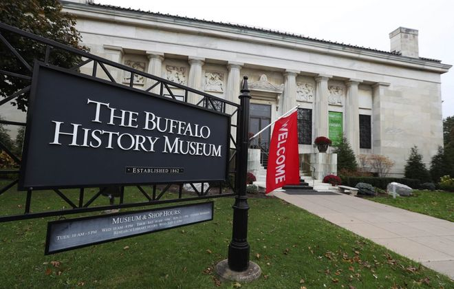 A local book signing event will be held from noon to 2 p.m. on Saturday at the Buffalo History Museum. (Sharon Cantillon/Buffalo News)