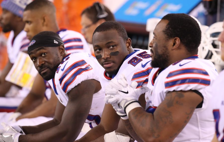 Bills running back LeSean McCoy got just 12 carries in Week 9 against the Jets. (James P. McCoy/Buffalo News)