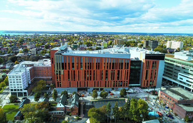 The UB Jacobs School of Medicine and Biomedical Sciences. (Derek Gee/News file photo)