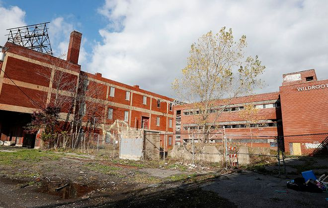 The exterior of the former Wildroot building on Bailey Avenue. (Mark Mulville/News file photo)