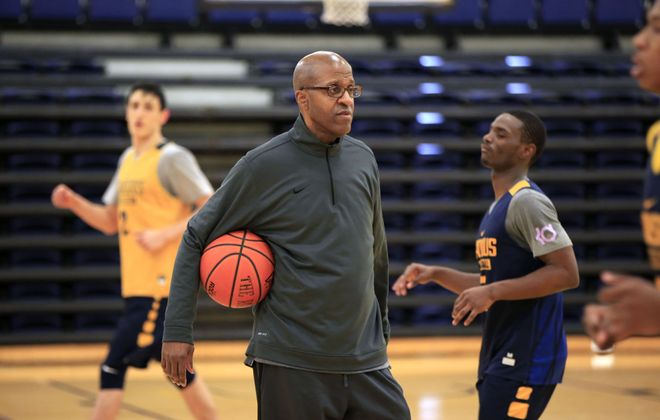 Canisius College basketball coach Reggie Witherspoon.  (Harry Scull Jr./Buffalo News)