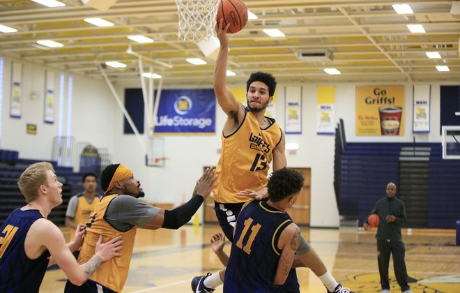 Isaiah Reese scored 21 points in the Canisius men's basketball team's loss to Rider on Friday. (Harry Scull Jr./News file photo)