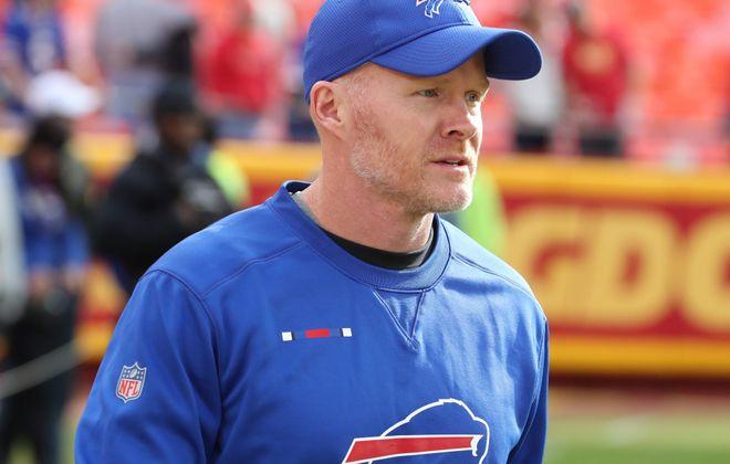 Coach Sean McDermott. (James P. McCoy/Buffalo News)