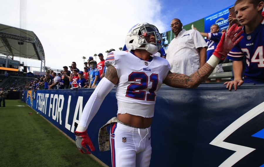 Jordan Poyer is among the veterans the Bills likely will want to extend in 2020. (Harry Scull Jr./Buffalo News)