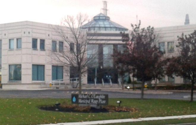 Niagara Falls Water Board headquarters and water filtration plant in 2017. (Thomas J. Prohaska/News file photo)