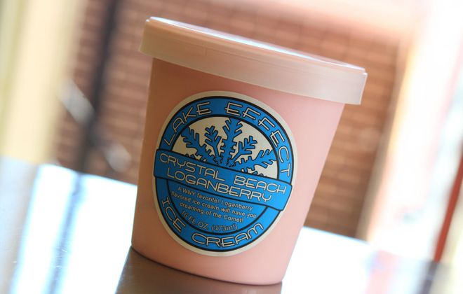 Lake Effect Ice Cream's pint sale has turned into a major annual event. (News file photo)