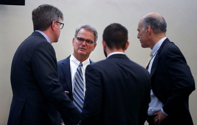 """Ross M. Cellino Jr. is accused by Stephen E. Barnes of trying to burn the Cellino & Barnes law firm """"to the ground,"""" regardless of how many employees are hurt. (Mark Mulville/News file photo)"""