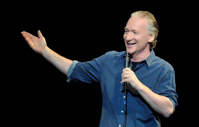 """Television host and commentator Bill Maher brings his """"politically incorrect"""" brand of comedy Nov. 12 to Shea's Preforming Arts Center. (Photo by David Becker/WireImage)"""