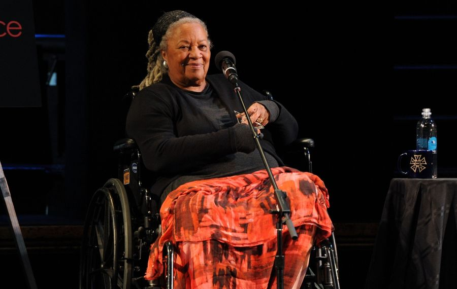 Toni Morrison, pictured  in 2016 in New York City.  (Craig Barritt/Getty Images for The Stella Adler Studio of Acting)
